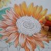 完成】プリズマカラーでヒマワリの塗り方紹介です☆花日和花だよりより