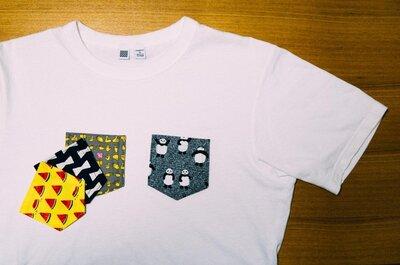【裁縫DIY】「ポケットのデザインを変えられるTシャツ」を作ってみました