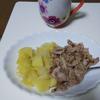 豚肉のアップルソテー添えを作る。砂糖を使わないのに、アップルパイのリンゴみたいで美味しい(料理第26弾)