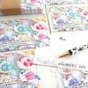 印刷屋さんの名刺印刷セールでメッセージカードを作りました!さらに他にも使用方法が?