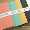 【買うしか】セリアにトラベラーズノート風ノートがある!