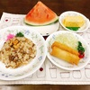 牛肉のガーリックライス定食