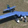 14日午前10時10分頃に水戸市でウルトラライトプレーンが墜落しているのが見つかる!この機体に乗っていた70代の男性が死亡!