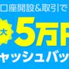 【終了】LINE FXの口座開設キャンペーン第2弾!最大5万円キャッシュバックはやる価値ある?