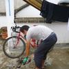 自転車世界一周。ココが壊れました。