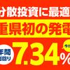 【初】三重県志摩市1号発電所がスタート!