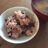 【お祝いは圧力鍋で作る赤飯で】息子の中学入学式でした