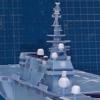 マストとレドーム群 護衛艦いずもペーパークラフト