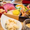 日本食と中国茶そして甘味を楽しむ