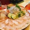 タチウオ、アマダイの釣りたて料理