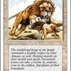 好きなカードを紹介していく。第三十七回「サバンナ・ライオン」