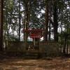西吉野町の波宝神社から笠神神社へ