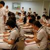 人工呼吸器研修がんばるぞ(1)(看護師研修)
