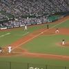 野球場に観客が戻り、GoToキャンペーンが始まる