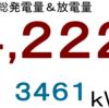 2021年1月分発電量&放電量