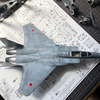 1/72 ハセガワ F-15J イーグル 制作途中