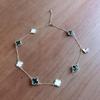 貴和製作所と楽天で買ったパーツでヴァンクリーフ風のネックレスを作ってみました