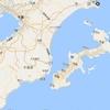 沖縄島と房総半島を比較してみた