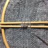 セーターの穴あき、直しました。