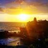 インドネシア旅行記【バリ編】 Tanah Lot Temple 海に浮かぶタナロット寺院へ 夕景とのコラボレーション