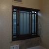 浴室 窓額縁の腐食