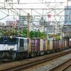 8月21日撮影 東海道線 平塚~大磯間 貨物列車撮影 3075ㇾ 5095ㇾ 2079ㇾ