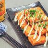 豆腐の甘辛照りマヨステーキ