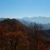 冬の足音が近づく負釣山