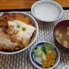 会津若松で丼いっぱいの分厚いカツ丼