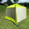 夏キャンプに向けて、テントの試し張り
