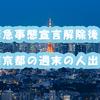 緊急事態宣言解除後の東京都の週末の人出