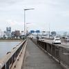 和歌山城チラ見えスポット Part.3 紀ノ川大橋から