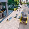 自動運転車からロボット犬が降りてくる。Continentalが新宅配システムを発表