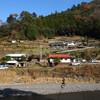 十津川村滝川の傾斜集落