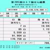 第295回ロト7抽選結果(2018年12月14日)キャリーオーバー発生!!