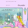イラスト・カレンダー【2019年12月】