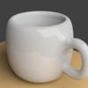 Blenderでマグカップを描いてみた