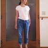 シンプル編 : 白Tシャツ × デニムのコーデ術
