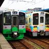 JRの基幹駅 第3セクターの駅へ^^…2019年直江津駅
