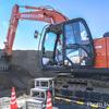 【日立建機】最新式ICT建機で目方でドーン【建設機械 バケット】【日立建機】