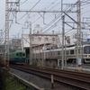 JR奈良線黄檗駅付近で