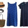 青がメインの夏の買い物