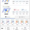 【台風】台風5号通過中!
