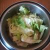 無限白菜もつ鍋3日目~どんどん白菜を追加していくよ
