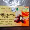 甘酸っぱくてほろ苦いフィリングが美味しい 柑橘リキュールのチョコレート