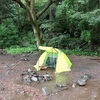 【ヒトリゴト】雨のキャンプを想う