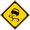 雨天時や雪道でのスリップにご注意!!