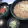 麺喰らう(その 138)朝そばセット(高菜ごはん)