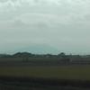 筑波山も台風25号が近づき暫く見えなくなる。