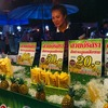 ピサヌローク市内のサタデー・ナイトマーケット
